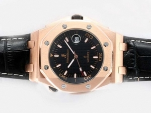 Cool Audemars Piguet Royal Oak Offshore Automatic Rose Gold Case AAA Watches [T2H2]