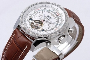 Breitling Bentley dell'annata per Tourbillon Chronograph Automatic AAA [N3T9]