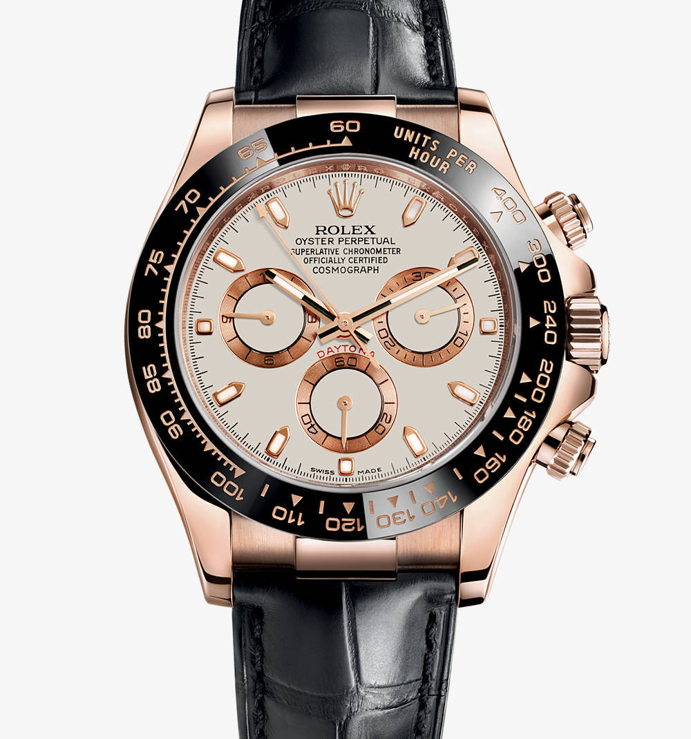 Replica Rolex Cosmograph Daytona Watch: 18 ct oro Everose - M116515LN-0003 [ea50]