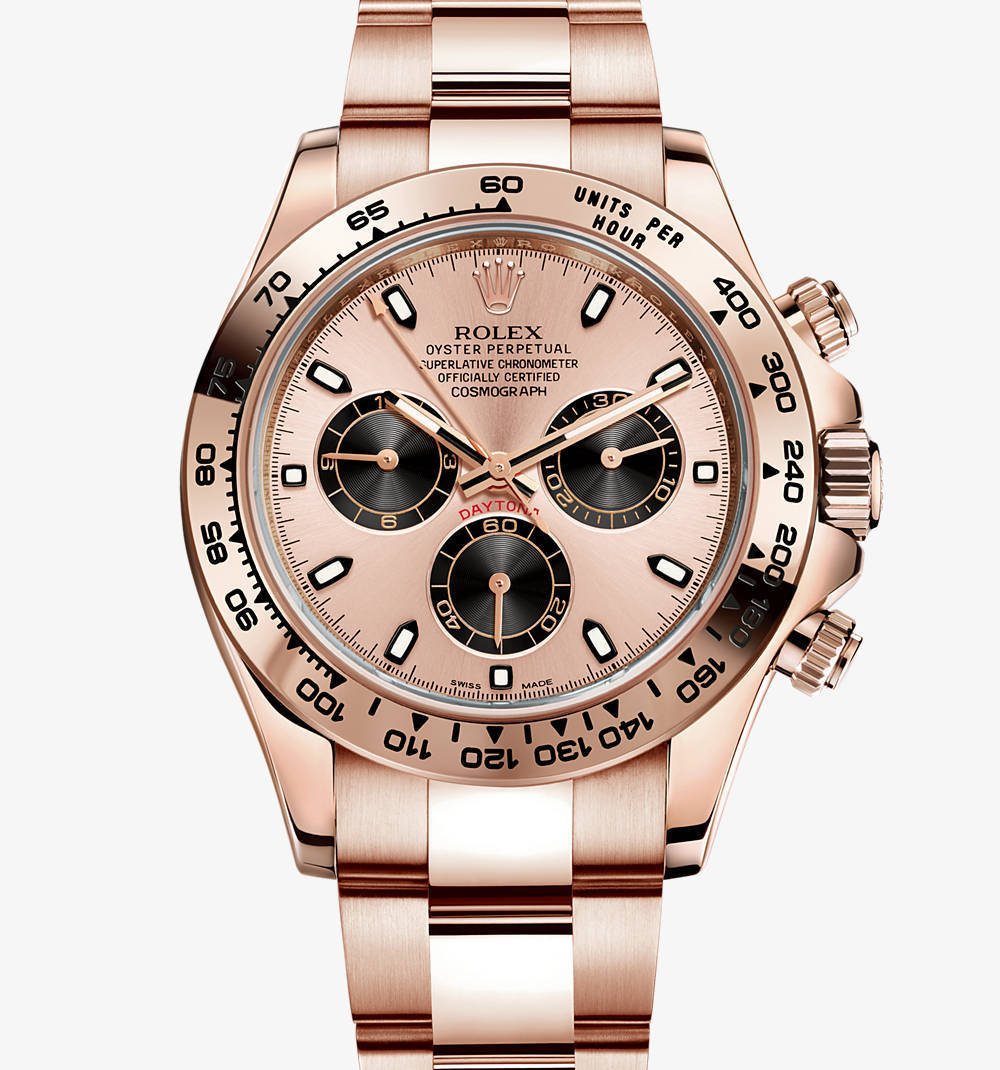 Replica Rolex Cosmograph Daytona Watch: 18 ct oro Everose - M116505-0001 [79f1]