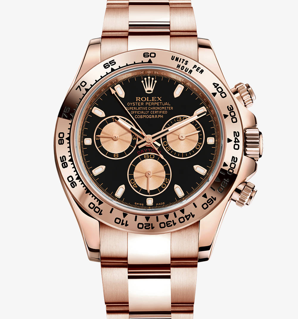Replica Rolex Cosmograph Daytona Watch: 18 ct oro Everose - M116505-0002 [7aa5]