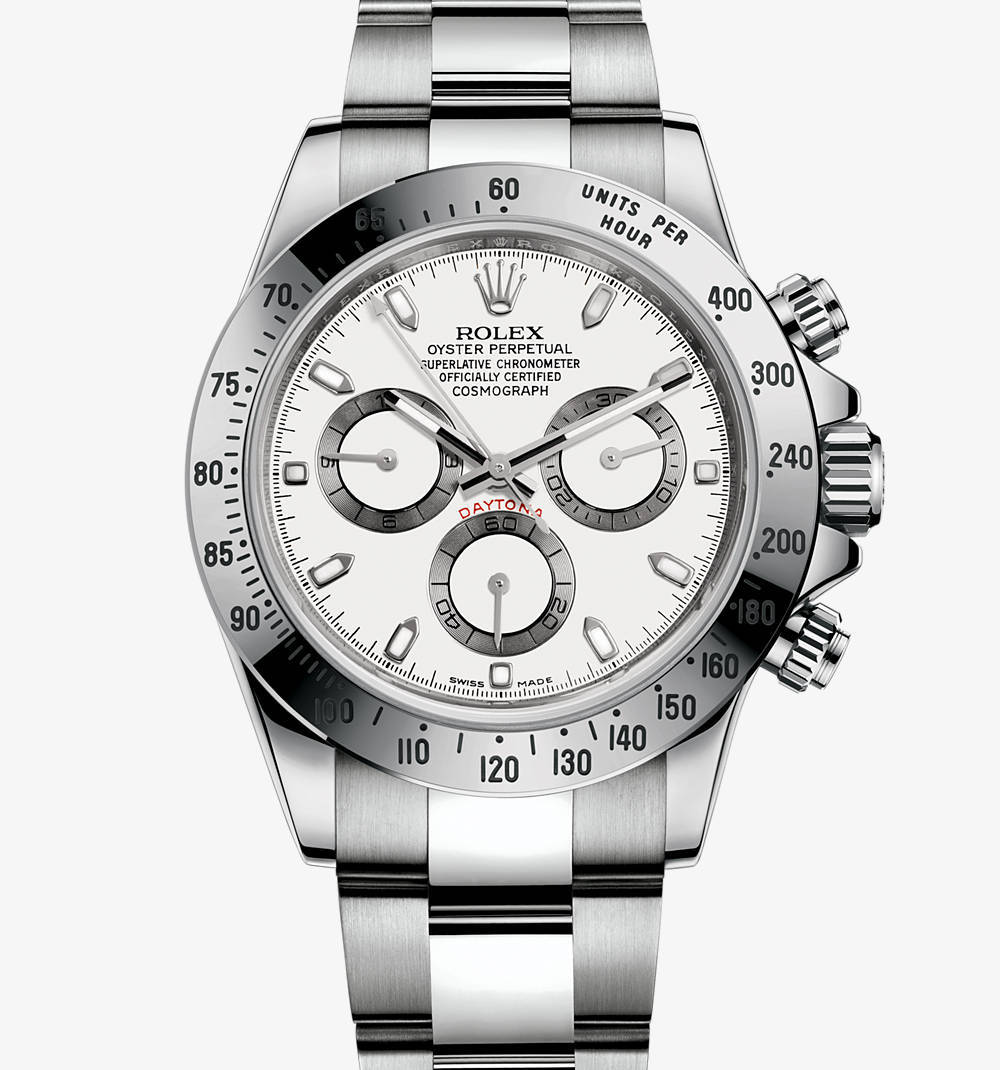 Replica Rolex Cosmograph Daytona Watch: in acciaio 904L - M116520-0016 [bd53]