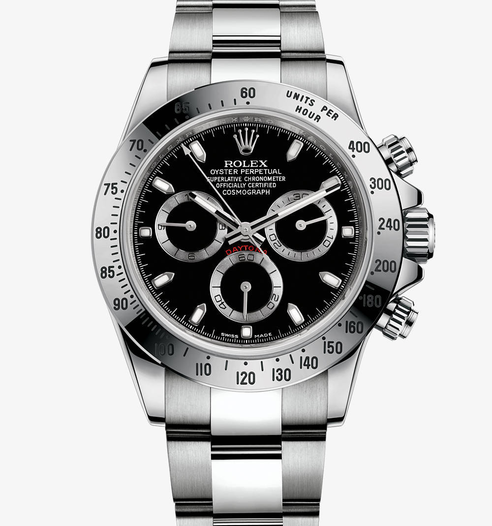 Replica Rolex Cosmograph Daytona Watch: in acciaio 904L - M116520-0015 [6014]